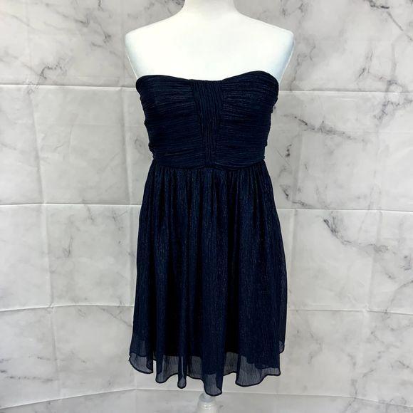 Gianni Bini Shimmering Strapless Dress